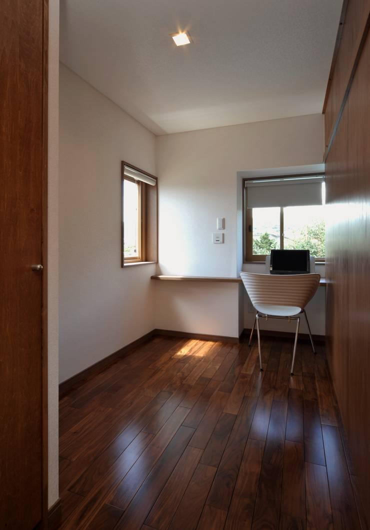 Uwano House: 株式会社シーンデザイン建築設計事務所が手掛けた子供部屋です。