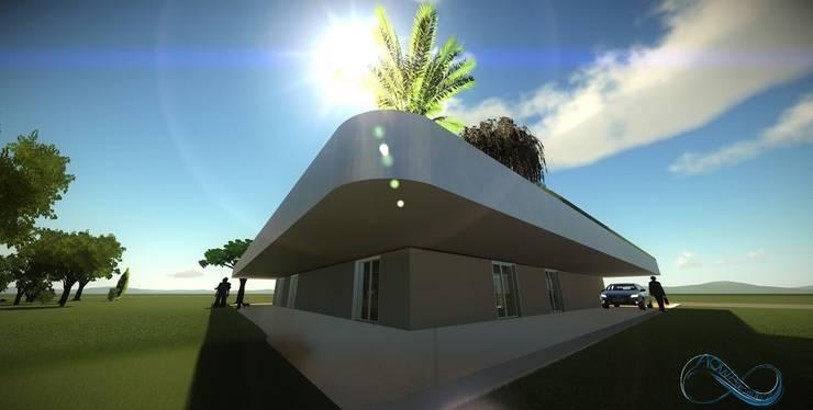 villeneuve saint denis: Maisons de style de style Moderne par Aarchis