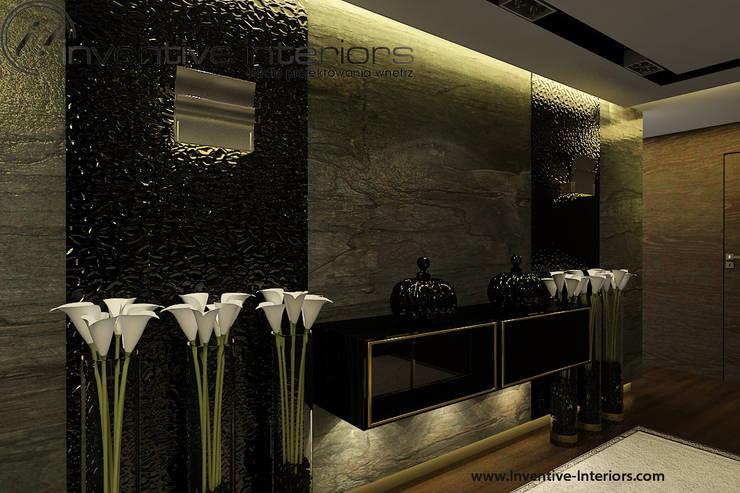 Luksusowy korytarz: styl , w kategorii Korytarz, przedpokój zaprojektowany przez Inventive Interiors