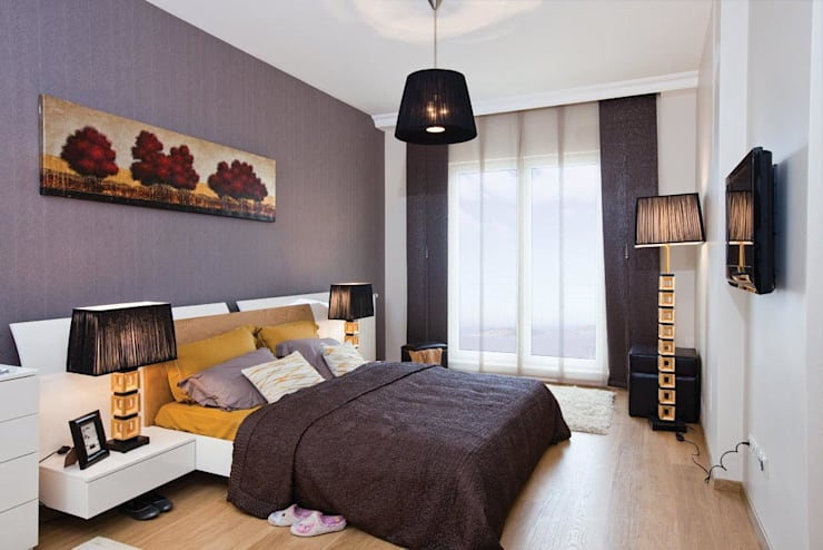 CCT INVESTMENTS – Interior Designs : modern tarz Yatak Odası