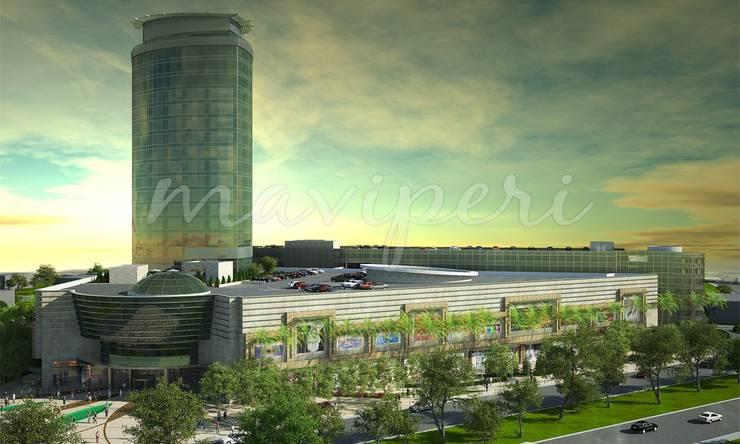 Bağdat AVM & Bağdat Rotana Otel:  Shopping Centres by Maviperi Mimarlık