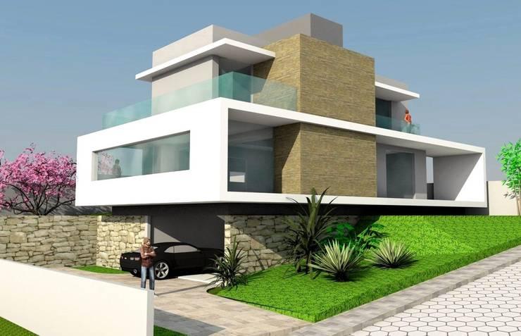 Casa Retang. : Casas  por Habita Arquitetura