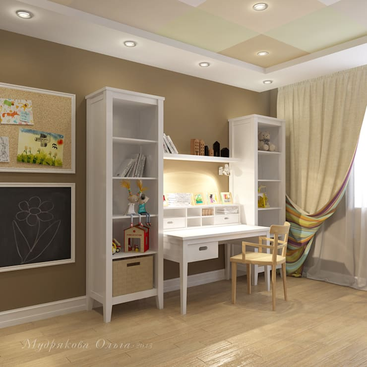 Design interior OLGA MUDRYAKOVA의  아이방