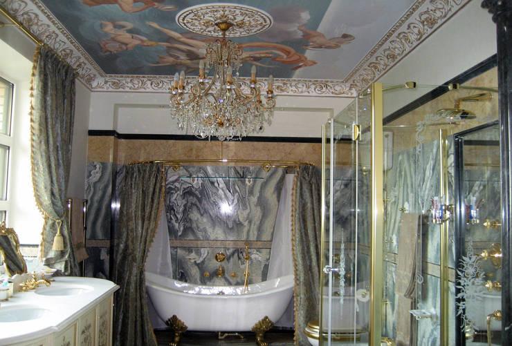 Квартира на Ксеньинском: Ванные комнаты в . Автор – Дизайн-студия «ARTof3L»