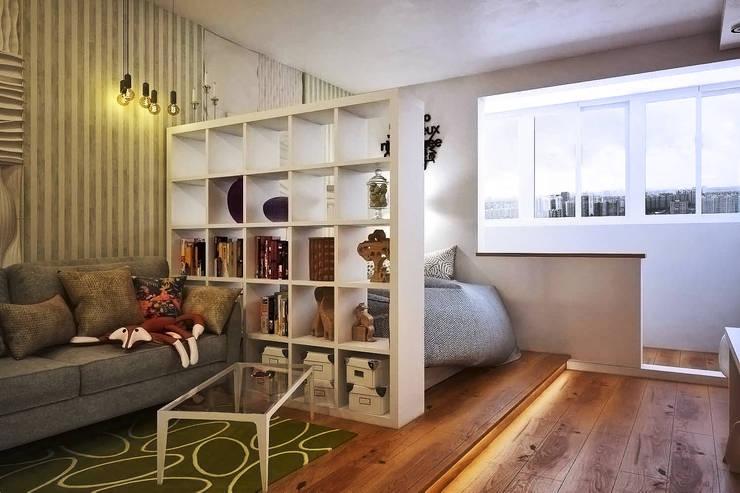 Salones de estilo escandinavo de  Pure Design