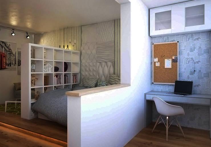 Estudios y despachos de estilo  de  Pure Design