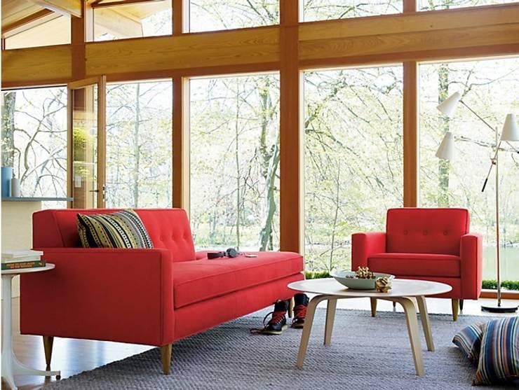 Bantam Studio Sofa : Salas de estilo  por Design Within Reach Mexico