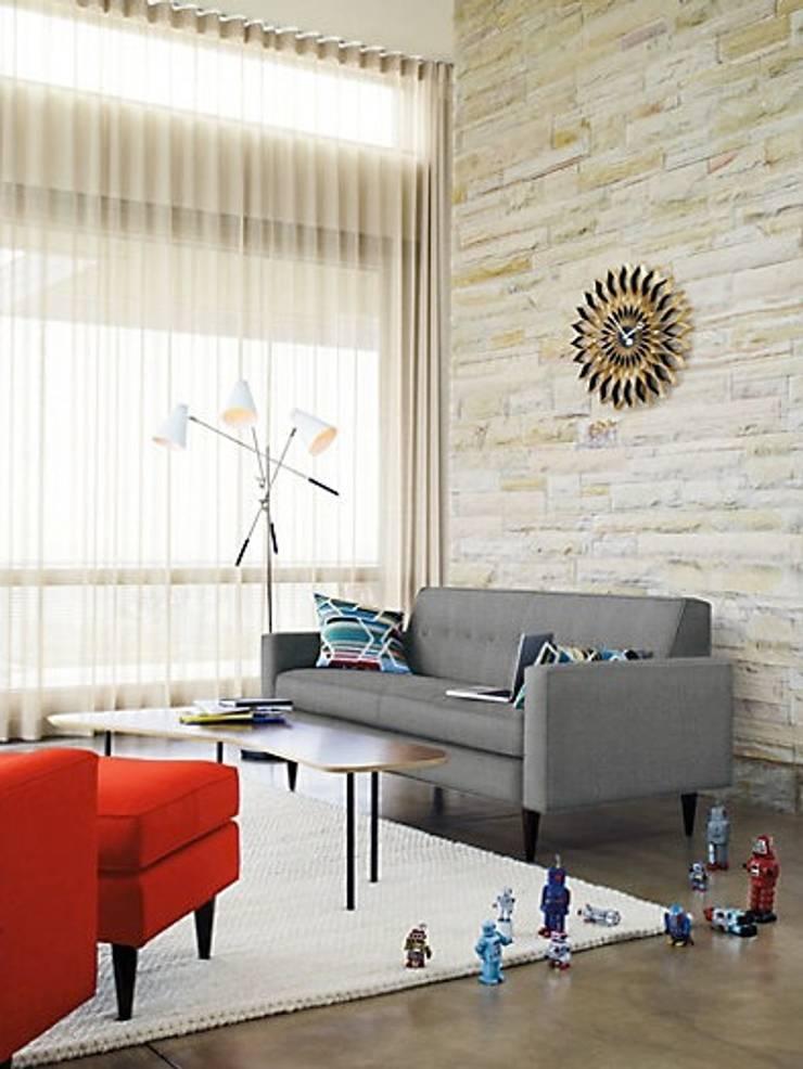 Bantam Sofa : Salas de estilo  por Design Within Reach Mexico