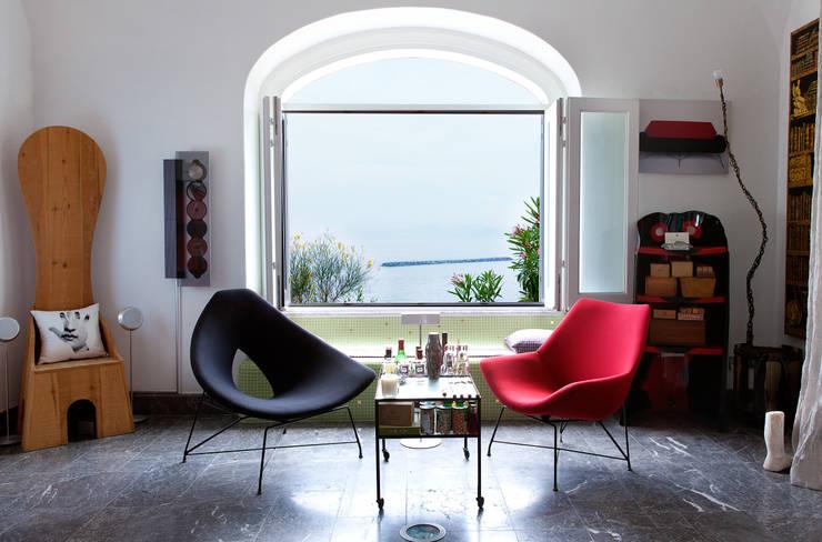 Salon: Salones de estilo ecléctico de Carmé