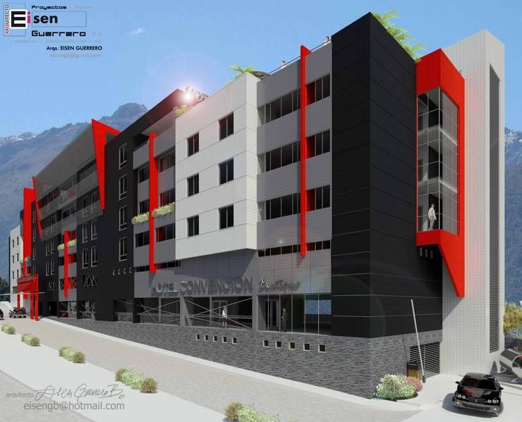 Hotel Convention boutique. 2013: Casas de estilo  por Eisen Arquitecto