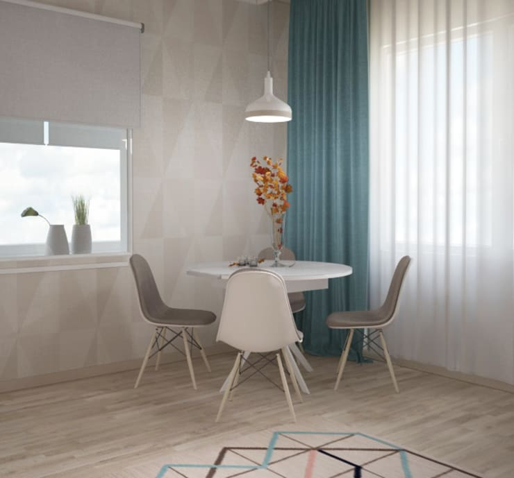 Dining room by Yana Ikrina Design