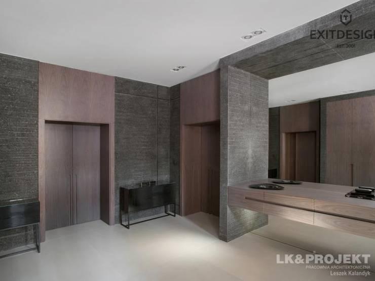Vestidores y closets de estilo  por LK & Projekt Sp. z o.o.
