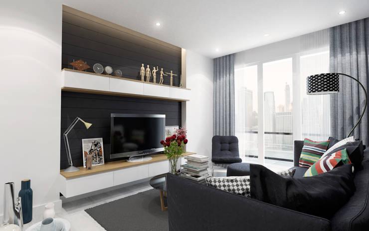 Cg Artist ibrahim ethem kısacık – Oturma Odası: modern tarz , Modern