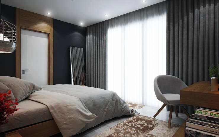 Cg Artist ibrahim ethem kısacık – Yatak Odası :  tarz Yatak Odası
