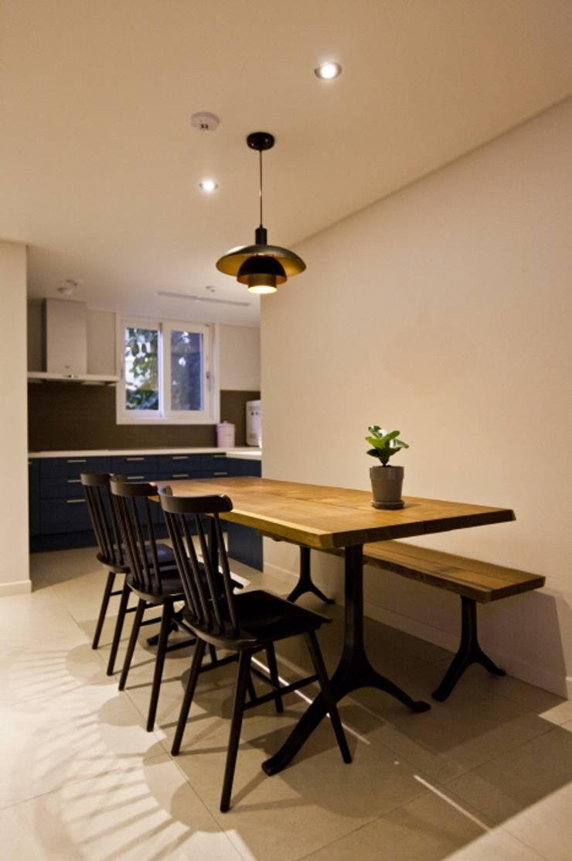 노은동 열매마을 9단지 : 도노 디자인 스튜디오의  다이닝 룸