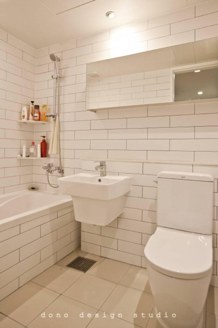 세종시 가락마을 84 m2 : 도노 디자인 스튜디오의  욕실