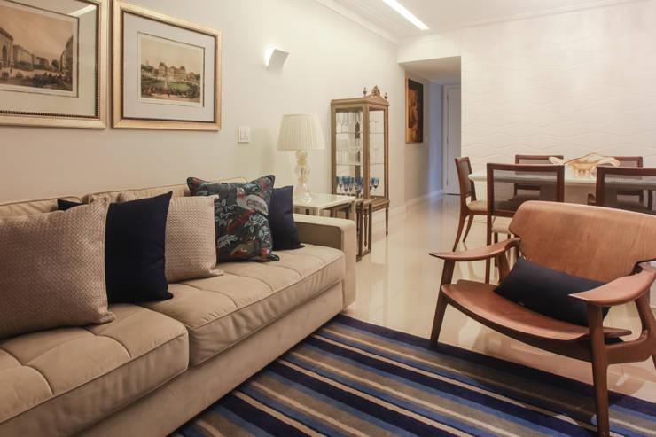 Sala de Estar: Salas de estar modernas por Arina Araujo Arquitetura e Interiores