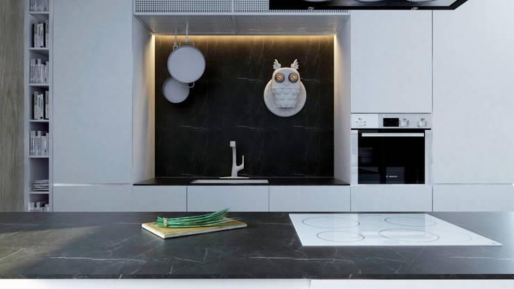 Moderne Küchen von A2.STUDIO PRACOWNIA ARCHITEKTURY Modern