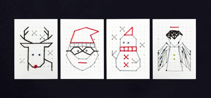 Christmas card : iwanna의  가정 용품