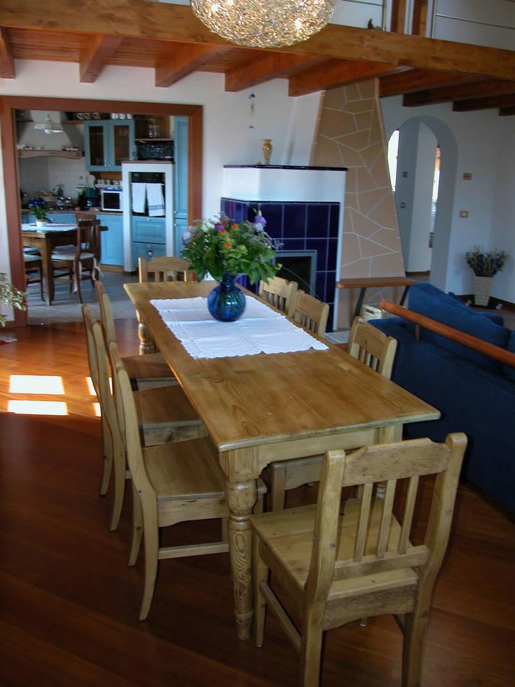 Ruang Makan oleh STUDIO ABACUS di BOTTEON arch. PIER PAOLO, Country