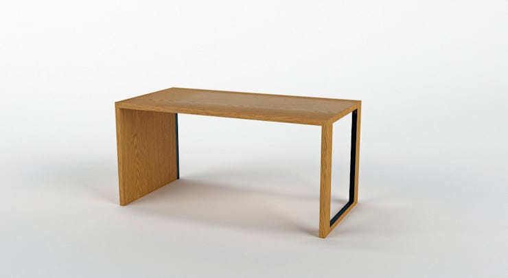 Biurko DESK 3: styl , w kategorii Domowe biuro i gabinet zaprojektowany przez Delicious Concept,