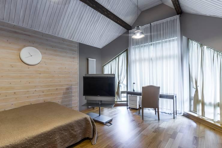 Загородный дом в Комарово: Детские комнаты в . Автор – Fusion Design