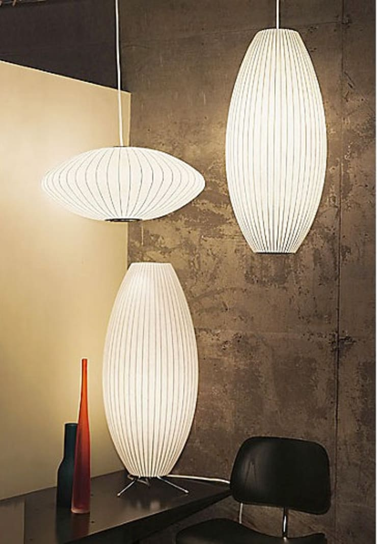 Nelson Bubble Lamps  : Hogar de estilo  por Design Within Reach Mexico