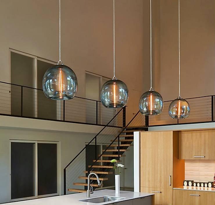 Stamen Pendant de Design Within Reach Mexico Moderno Vidrio