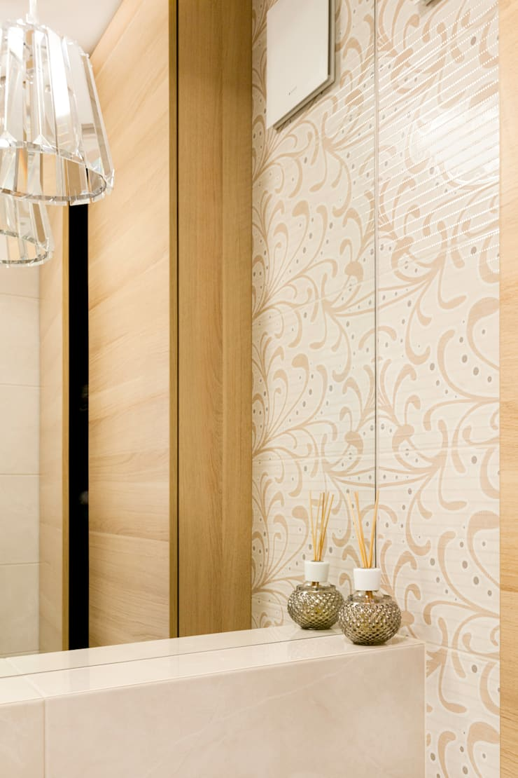 現代浴室設計點子、靈感&圖片 根據 Decoroom 現代風
