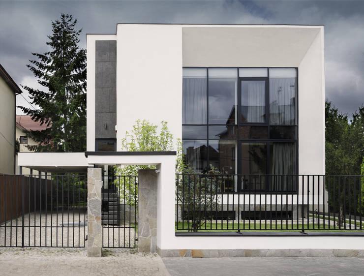 Дома в . Автор – PAWEL LIS ARCHITEKCI