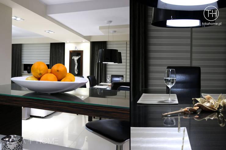 Powiew Wenecji: styl , w kategorii Jadalnia zaprojektowany przez TOKA + HOME