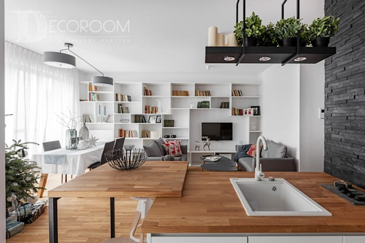Living room by Decoroom, Modern