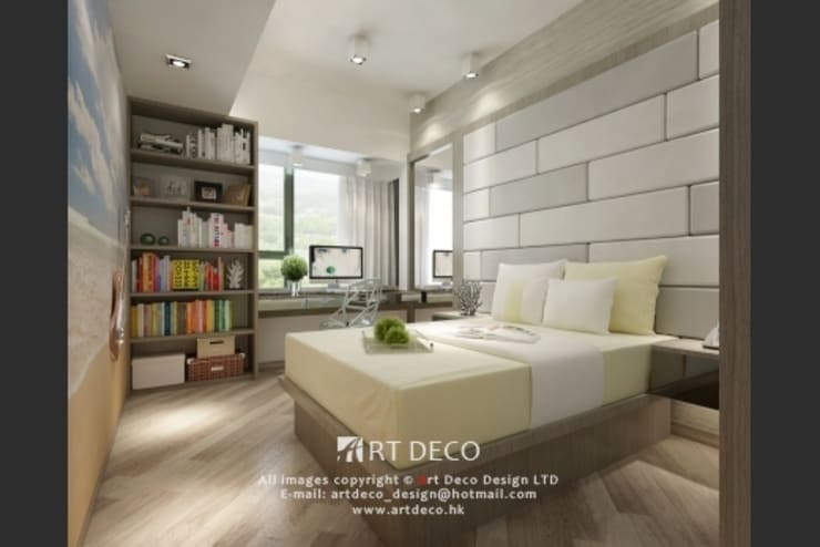 Art Deco Design Ltd.의  침실