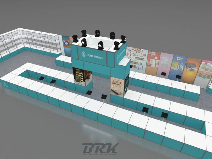 BRK İnterior Design – Modüler Stant:  tarz , Endüstriyel