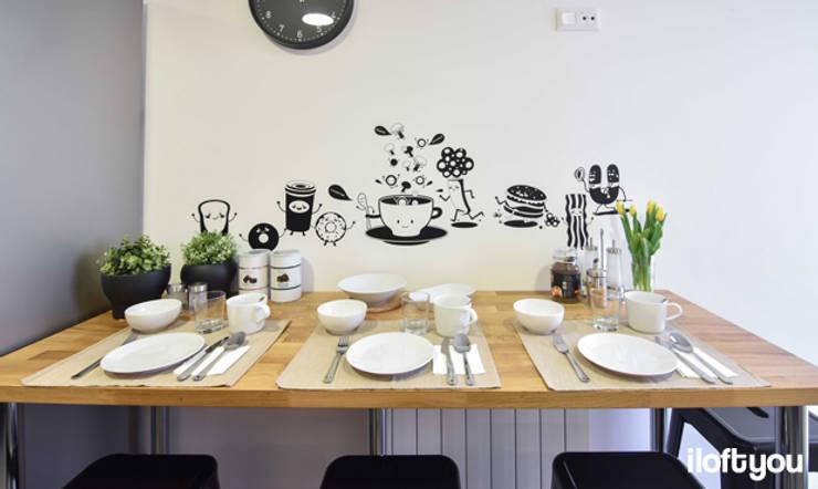 Cocina de estilo  por iloftyou