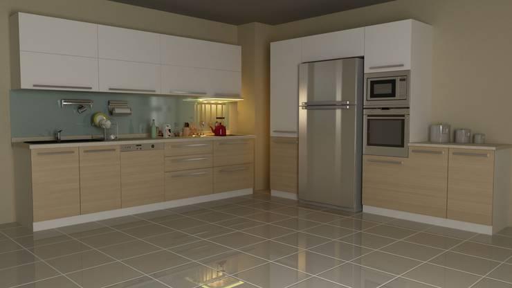RA Design – Mutfak Projeleri:  tarz Mutfak