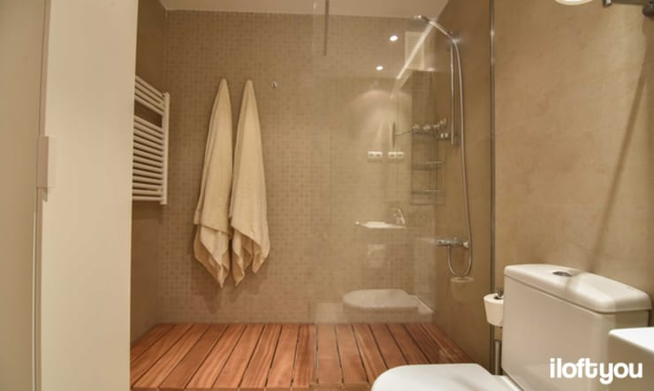 Baños de estilo moderno por iloftyou