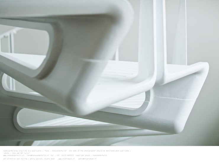 Studio Roderick Vos :  Studeerkamer/kantoor door Studio Roderick Vos, Industrieel