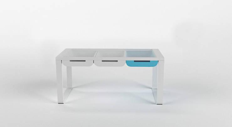 Biurko BABY 1: styl , w kategorii Domowe biuro i gabinet zaprojektowany przez Delicious Concept,