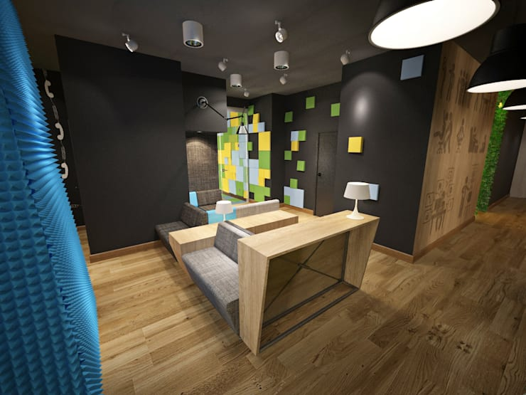 Modern study/office by Delicious Concept Modern