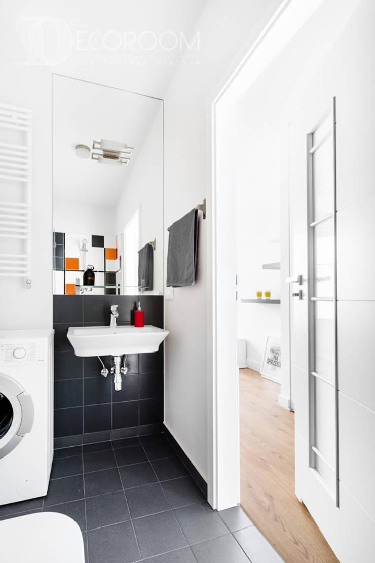 nowoczesne wnętrze: styl , w kategorii Łazienka zaprojektowany przez Decoroom