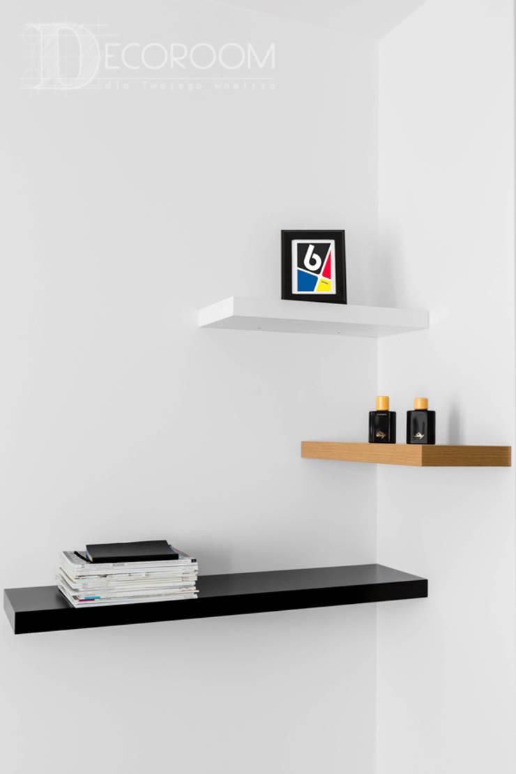 nowoczesne wnętrze: styl , w kategorii Salon zaprojektowany przez Decoroom