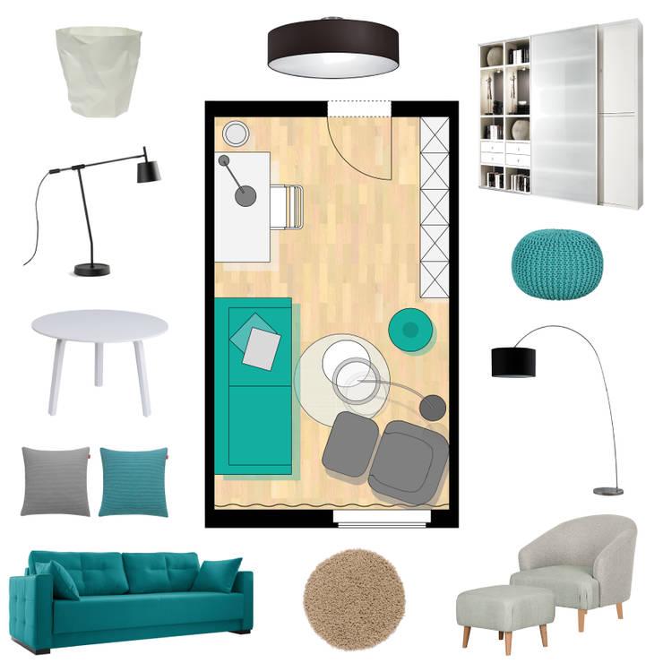 Konzept Für Einen Kunden Schlaf Und Arbeitszimmer Von Furnitects