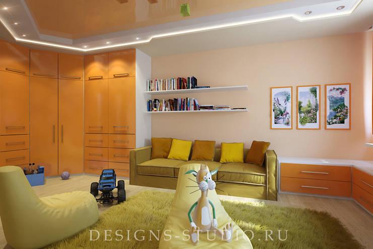 Проект отдельных помещений из разных проектов: Детские комнаты в . Автор – Дизайн Студия Леоновой Натали