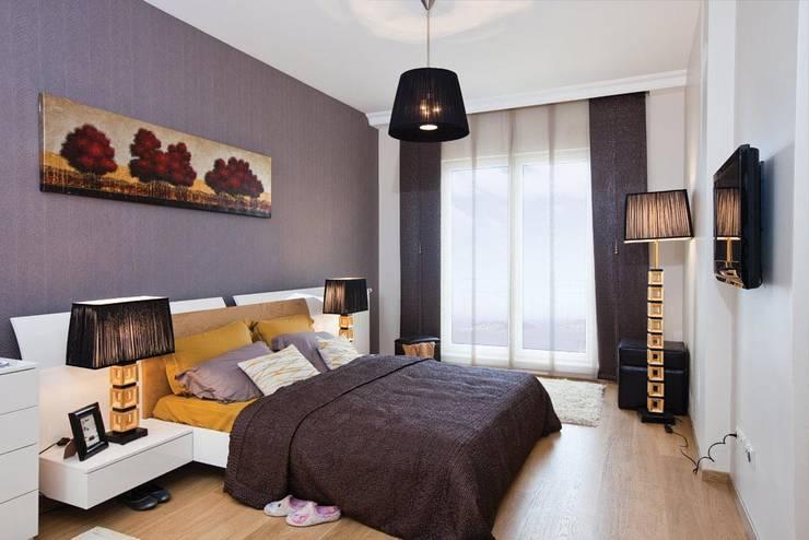CCT INVESTMENTS – CCT 172 Project in Trabzon: modern tarz Yatak Odası