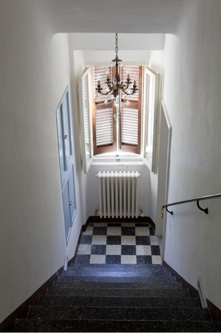 Koridor dan lorong oleh Ing. Vitale Grisostomi Travaglini, Rustic