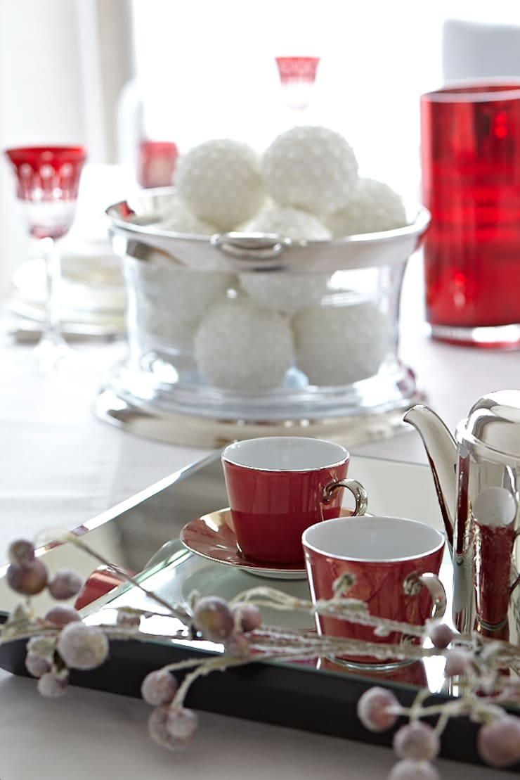 Christmas Collection: styl , w kategorii Jadalnia zaprojektowany przez BBHome