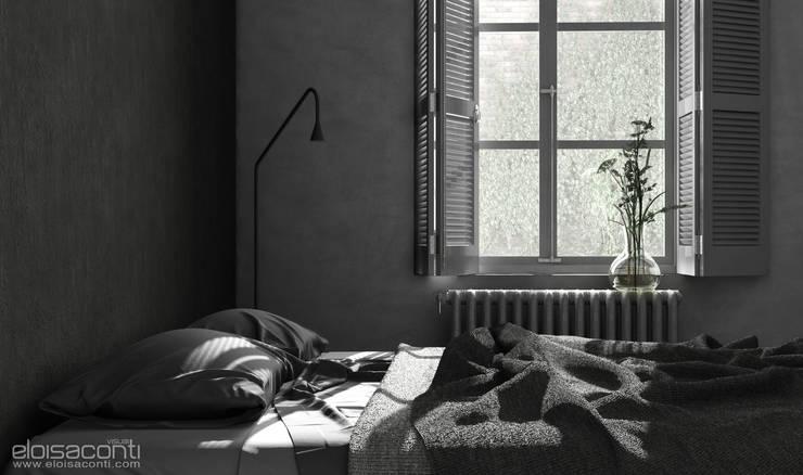 minimalistische Slaapkamer door Eloisa Conti Visual