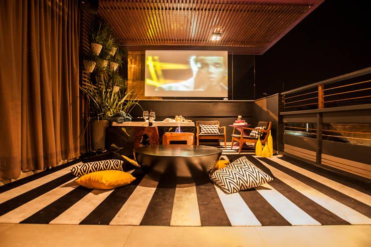 Mostra Open House - Terraço: Terraços  por MP Arquitetura,Rústico