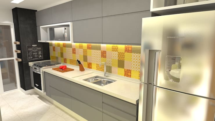 Kitchen by Arquitetura do Brasil,